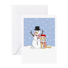 Border Collie Season's Greeting Card