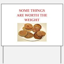 english,muffins Yard Sign
