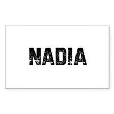 Nadia Rectangle Decal