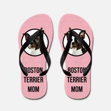 Boston Terrier Mom Flip Flops