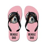 Beagle flipflops Flip Flops