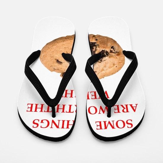 cookies Flip Flops