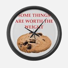 cookies Large Wall Clock