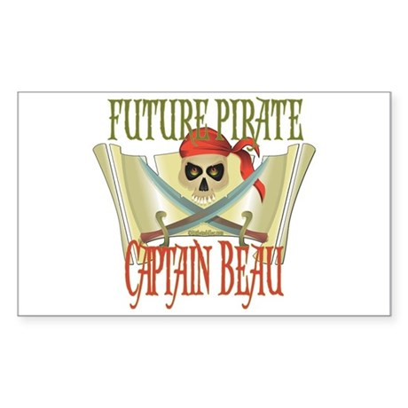 Future Pirates Rectangle Sticker