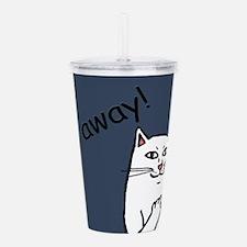 Naughty Cat Acrylic Double-wall Tumbler