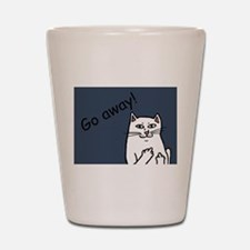 Naughty Cat Shot Glass