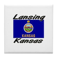 Lansing Kansas Tile Coaster