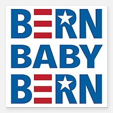 "BERN Baby BERN Square Car Magnet 3"" x 3"""