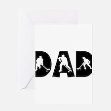 Cute 1 dad Greeting Card