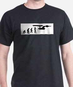 Funny Evolution geek T-Shirt