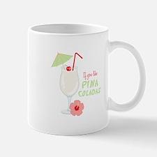 Pina Coladas Mugs
