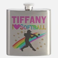 SOFTBALL STAR Flask