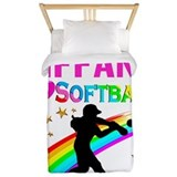 Softball Luxe Twin Duvet Cover