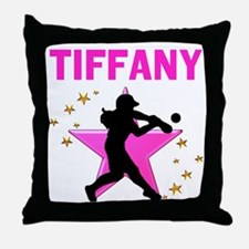 SOFTBALL STAR Throw Pillow