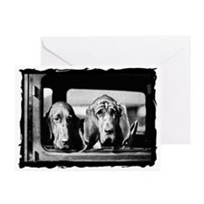 Vintage Bloodhound Greeting Cards (Pk of 10)