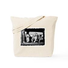 Vintage Bloodhound Tote Bag