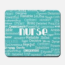 Nurse Adjectives Mousepad