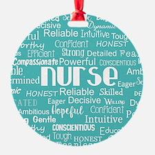 Nurse Adjectives Ornament