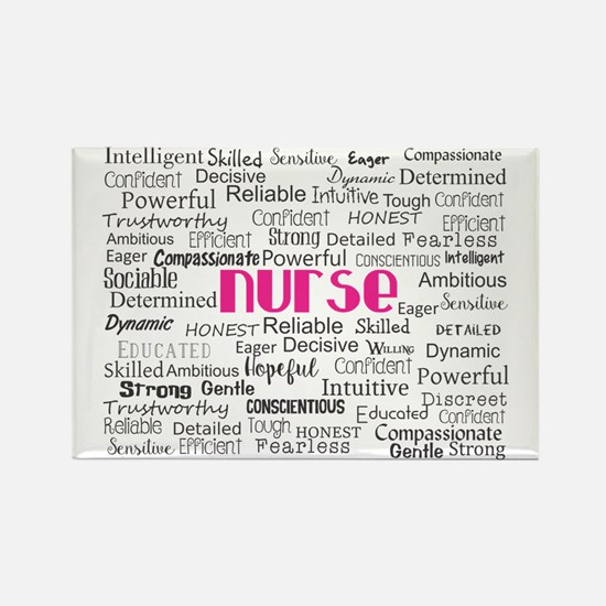 Nurse Adjectives Magnets