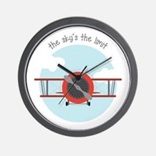Skys The Limit Wall Clock