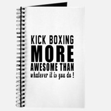 Kick Boxing More Awesome Designs Journal