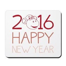 2016 New Year Mousepad