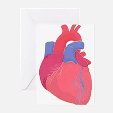 Valentine Heart Greeting Cards (pk Of 10)