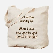 Cute Goat Tote Bag