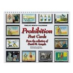 Prohibition Postcard Wall Calendar