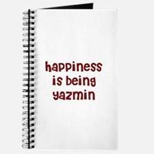 happiness is being Yazmin Journal