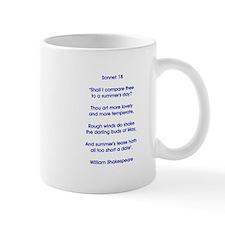 SONNET 18 Mugs