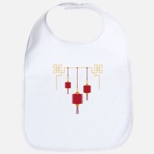 Chinese Lanterns Bib