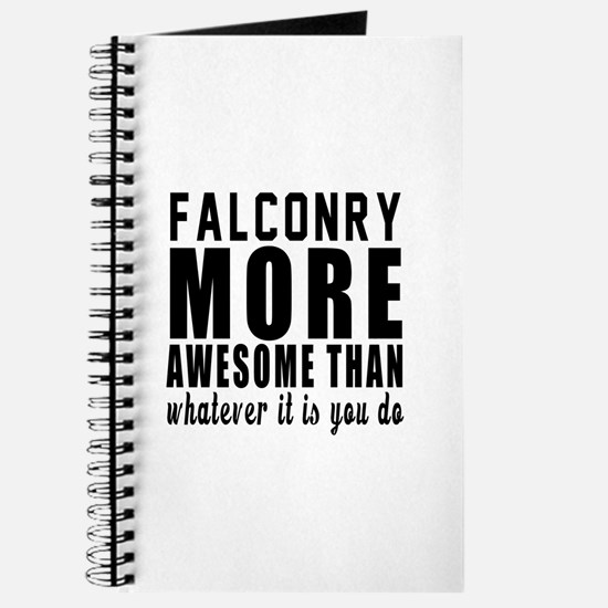 Falconry More Awesome Designs Journal