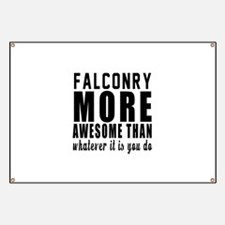 Falconry More Awesome Designs Banner