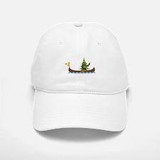 Canoeing Pine Tree Baseball Baseball Baseball Cap