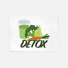 Detox Juice 5'x7'Area Rug