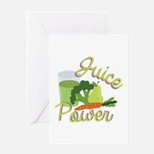 Juice Power Greeting Cards