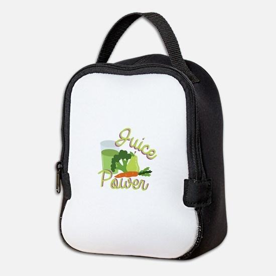 Juice Power Neoprene Lunch Bag