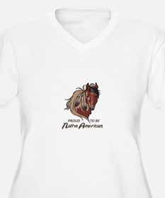 Proud Native American Plus Size T-Shirt