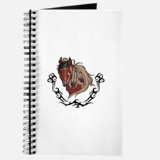 Feathered Tribal Horse Journal