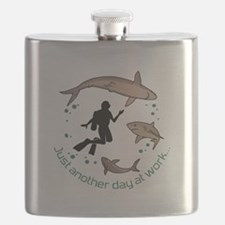 Another Day At Work Flask