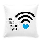 Geek Woven Pillows