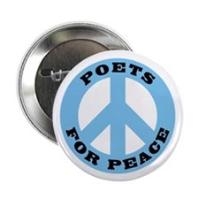 "Poets For Peace 2.25"" Button (10 pack)"