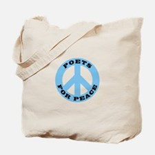 Poets For Peace Tote Bag