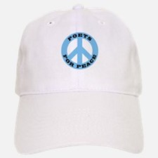 Poets For Peace Baseball Baseball Cap