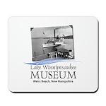 Lake Winnipesaukee Museum Logo Mousepad