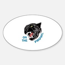 Panther On The Prowl Decal