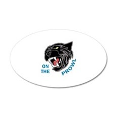 Panther On The Prowl Wall Decal