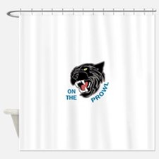 Panther On The Prowl Shower Curtain