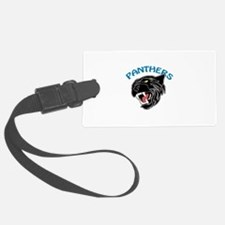 Team Panthers Luggage Tag